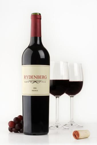 Wine Bottle「Red wine」:スマホ壁紙(6)