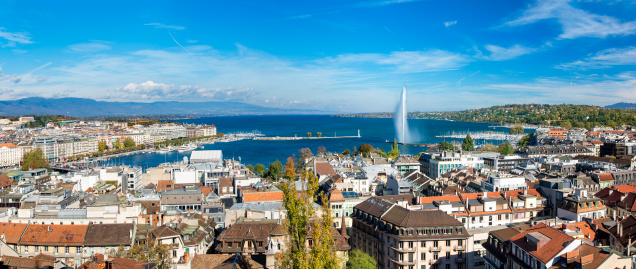 St「View of Geneva from St. Pierre Cathedral」:スマホ壁紙(6)