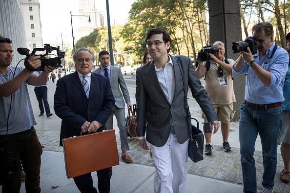 Drew Angerer「Jury Deliberations Continue In Martin Shkreli Securities Fraud Trial」:写真・画像(15)[壁紙.com]