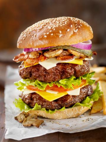Gourmet「Really Big Burger」:スマホ壁紙(1)