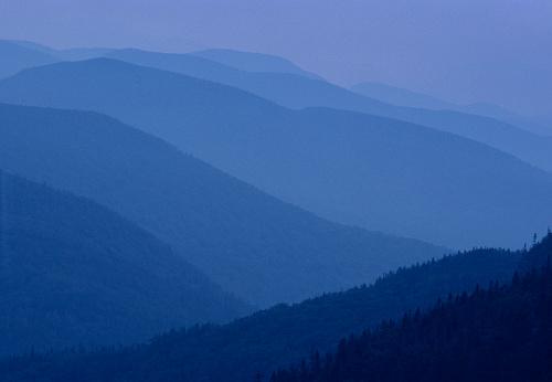 グリーン山脈「Receding mountain range in Vermont」:スマホ壁紙(14)