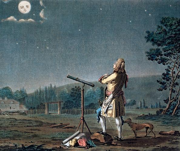 18th Century Style「Bernard Le Bovier De Fontenelle Contemplating The Plurality Of Worlds 1791」:写真・画像(19)[壁紙.com]