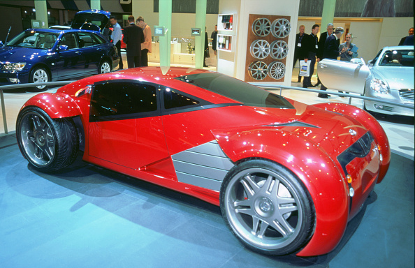 Beaulieu National Motor Museum「2002 Lexus electric concept car used in 'Minority Report' film」:写真・画像(2)[壁紙.com]