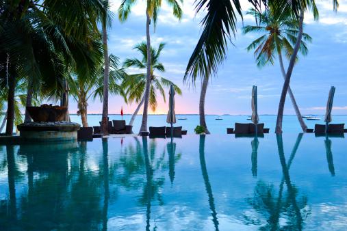 Island「The Swimming Pool of Summer Resort」:スマホ壁紙(19)