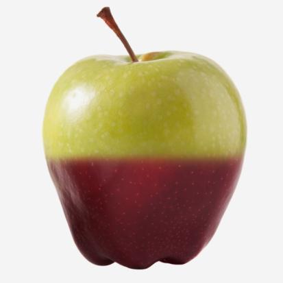 Uncertainty「Genetically modified apple」:スマホ壁紙(7)