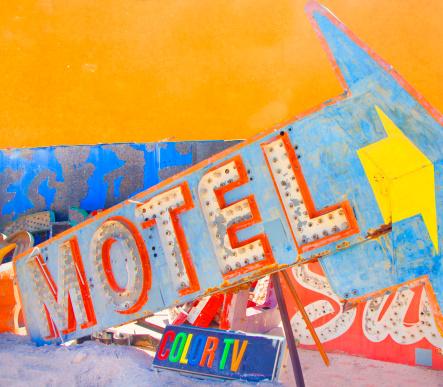Motel Sign「Old motel sign」:スマホ壁紙(17)