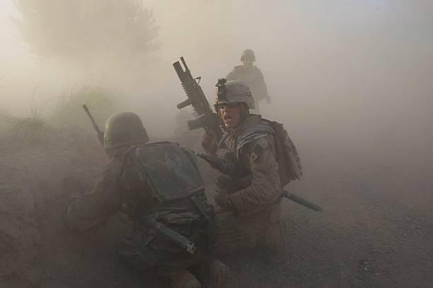 U.S. Marines Continue Suppression Of Insurgents:ニュース(壁紙.com)