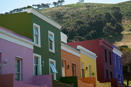 Malay Quarter「The colorful houses of Bo-Kaap and Signal Hill.」:スマホ壁紙(0)