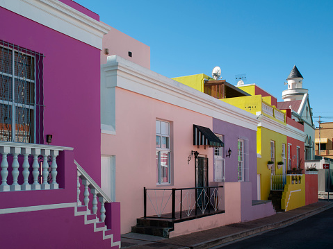 Malay Quarter「The colorful houses of Bo-Kaap in Cape Town.」:スマホ壁紙(10)