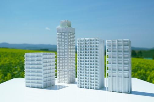 Hokkaido「Architectural models in the field」:スマホ壁紙(7)