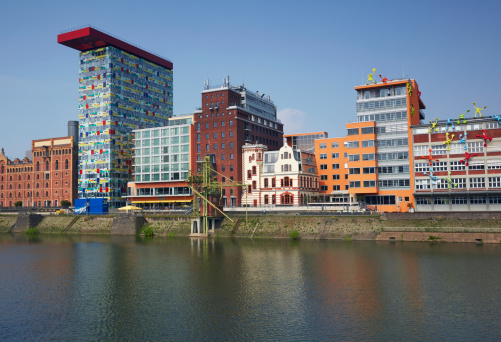 Postmodern「Architecture of Dusseldorf Mediahafen」:スマホ壁紙(10)