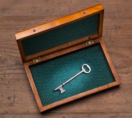 Antique「Antique Key in Wooden box」:スマホ壁紙(0)
