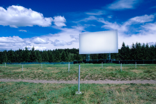 Projection Screen「Abandoned drive-in movie theater」:スマホ壁紙(14)