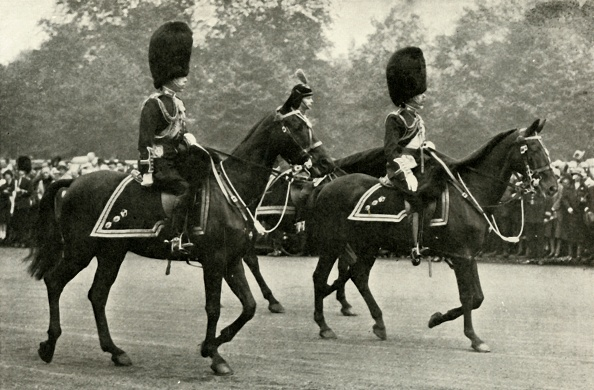 Mammal「King George Riding With The Late King George V And The Prince Of Wales」:写真・画像(1)[壁紙.com]