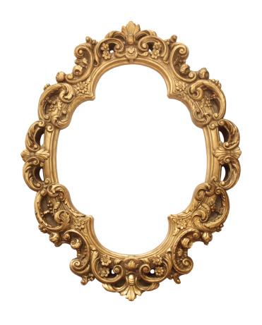 Carving - Craft Product「Antique gold frame」:スマホ壁紙(8)