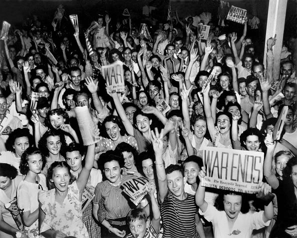 World War II「V-J Day Celebrations In Oak Ridge」:写真・画像(3)[壁紙.com]
