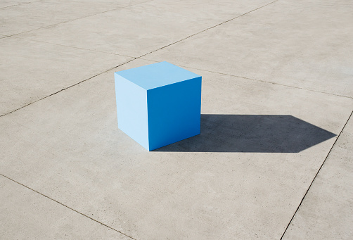 Beginnings「Large blue blocks」:スマホ壁紙(18)