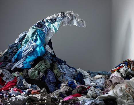 Washing「Wave of laundry 」:スマホ壁紙(14)