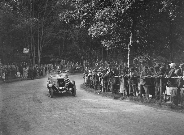 Curve「Austin Twenty open tourer of A Waite at the MAC Shelsley Walsh Hillclimb, Worcestershire, 1923」:写真・画像(17)[壁紙.com]