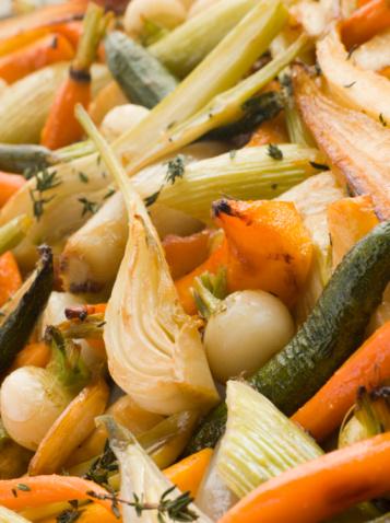 Fennel「Honey and Thyme Roasted Baby Vegetables」:スマホ壁紙(2)
