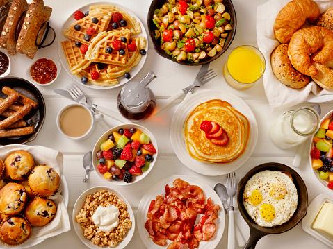 Bacon「Breakfast Feast」:スマホ壁紙(1)