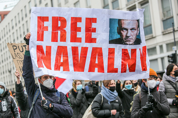 Russia「Supporters Of Alexei Navalny Gather In Berlin, Demand His Release From Russian Prison」:写真・画像(18)[壁紙.com]