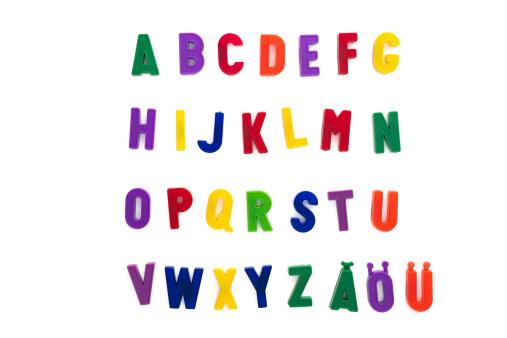Letter N「alphabet written with magnetic letters included ä, ö, ü」:スマホ壁紙(18)