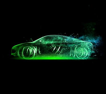 Image「Car glass green」:スマホ壁紙(1)