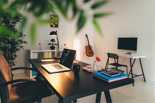 Laptop「The modern way to work」:スマホ壁紙(13)