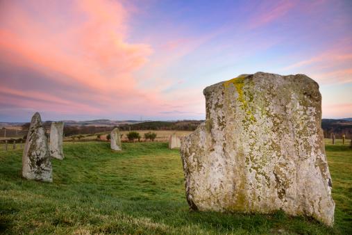 Ancient Civilization「Easter Aquhorthies Stone Circle」:スマホ壁紙(5)