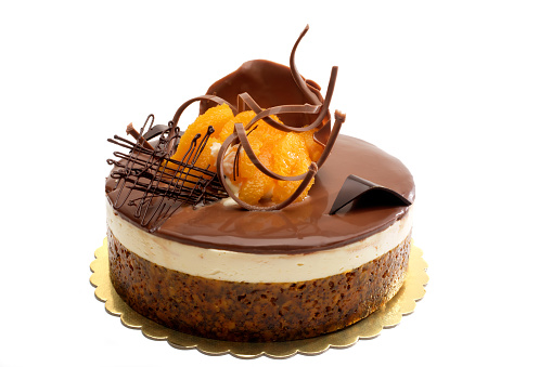 Dessert「chocolate and orange cake」:スマホ壁紙(19)