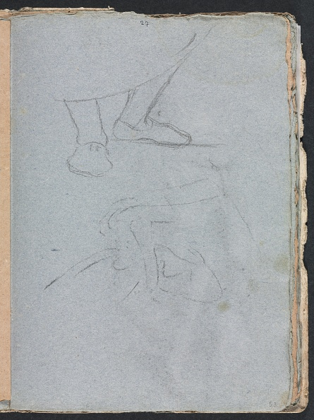 Chalk - Art Equipment「Verona Sketchbook: Study Of Feet (Page 53)」:写真・画像(16)[壁紙.com]