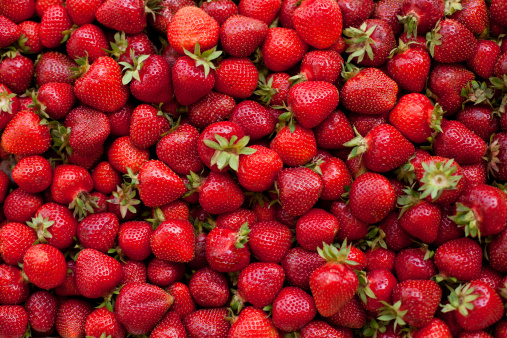 Strawberry「Fresh organic strawberries」:スマホ壁紙(6)