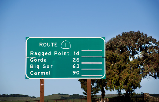 California State Route 1「Route 1 Highway Sign」:スマホ壁紙(3)