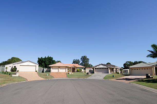 Real Estate: Suburban Cul-de-sac:スマホ壁紙(壁紙.com)