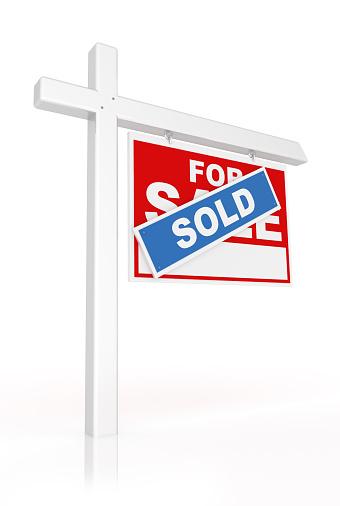 Single Word「Real Estate Sold Sign」:スマホ壁紙(8)