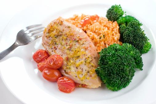 Turkey - Bird「Chicken & Rice Dinner」:スマホ壁紙(5)