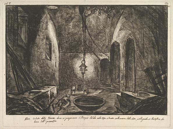 Etching「View Of Pompeii (Altra Veduta Della Stanza Dove Si Preparava Il Bogno Caldo    ) by  Francesco Piranesi」:写真・画像(17)[壁紙.com]