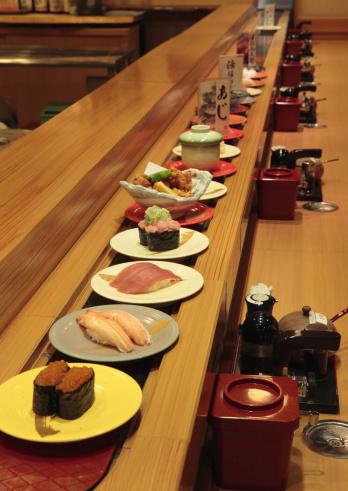 Hokkaido「Conveyor belt sushi」:スマホ壁紙(4)