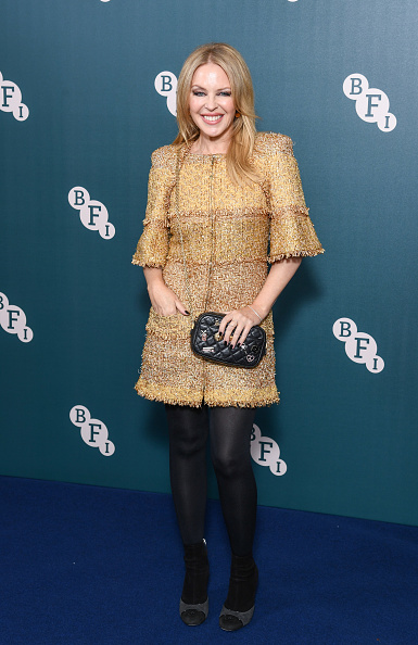 Gold Dress「BFI Fellowship 2020 - Red Carpet Arrivals」:写真・画像(10)[壁紙.com]