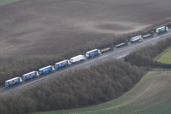 Traffic「Government Tests Plans To Ease Dover Traffic Chaos After Brexit」:写真・画像(15)[壁紙.com]