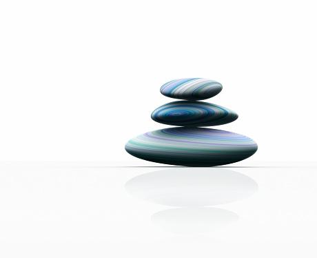 Three Objects「Balancing pebbles」:スマホ壁紙(9)