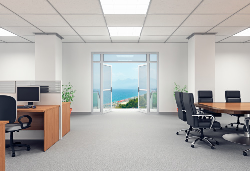 Corporate Business「Escaping the Office」:スマホ壁紙(6)