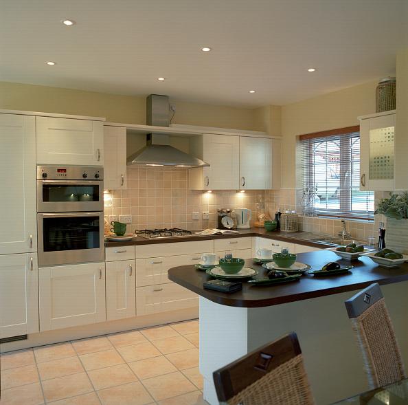 Open Plan「Kitchen, modern house, England」:写真・画像(17)[壁紙.com]
