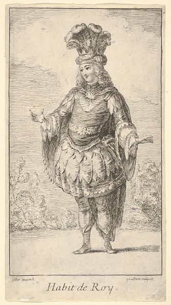 Etching「Habit De Roy: A Man Wearing A Tonnelet Decorated With Rosettes」:写真・画像(15)[壁紙.com]