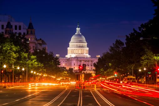 Politics「Capitol Building from Pennsylvania Avenue」:スマホ壁紙(14)