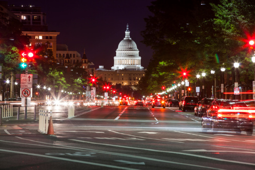 Politics「Capitol Building from Pennsylvania Aveue」:スマホ壁紙(6)