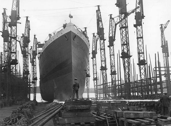 Passenger Craft「Oronsay In Dock」:写真・画像(11)[壁紙.com]
