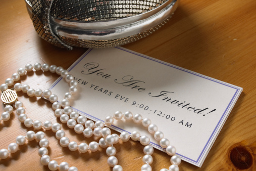 Wedding Invitation「pearls invitation jewelry」:スマホ壁紙(12)