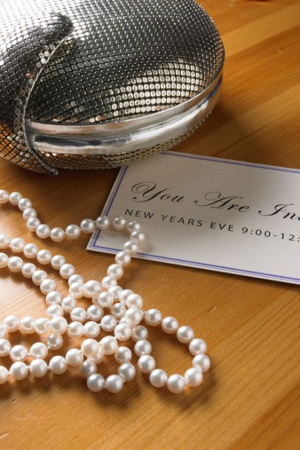 Wedding Invitation「pearls invitation jewelry」:スマホ壁紙(11)